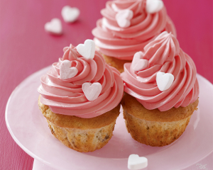 Herzerl-Cupcakes