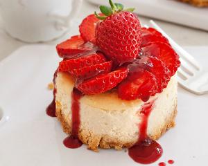 Erdbeer-Joghurt-Törtchen