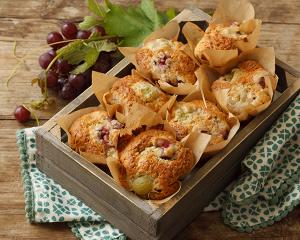 Trauben-Nuss-Muffins