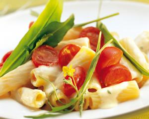 Tortiglioni mit Rucola Sauce