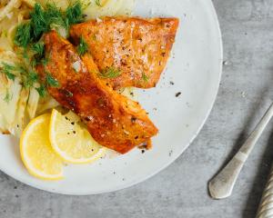 Tandoori Fisch mit Chili und Fenchel