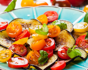 Schneller Melanzani Salat