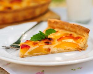 Fruchtige Pfirsich-Tarte