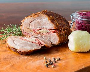 Schweinerollbraten mit Rosmarin