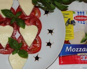 Tomate-mozzarella in Love