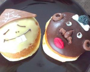 Nutella und Vanillekrapfen