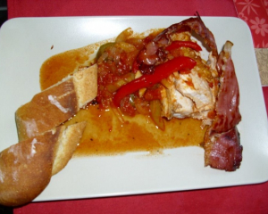 Baskisches Huhn