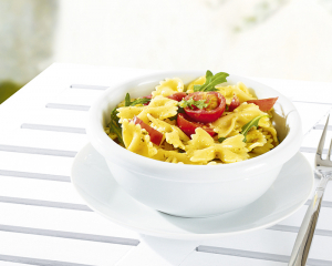 Pastasalat mit Pesto alla Genovese