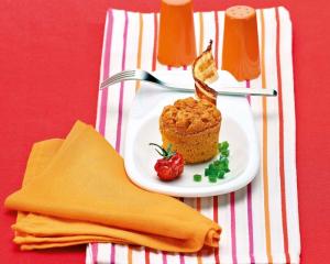Paprika-Soufflé