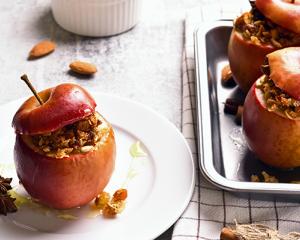 Weihnachtliche Bratäpfel
