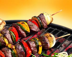 Barbecue-Spieße