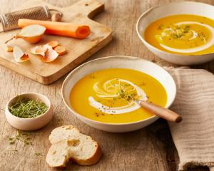 Köstliche Karottensuppe