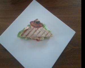 Quietsch-Käse-Sandwich