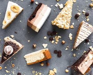 Schachbrett-Torte