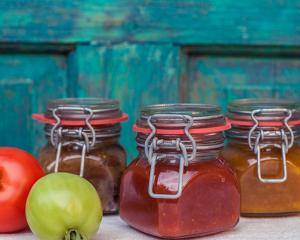 Tomaten-Paprika Relish