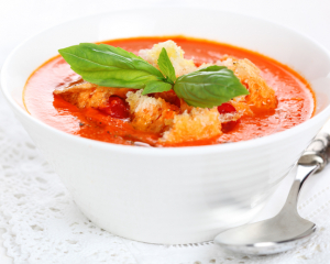 Paprika Paradeissuppe