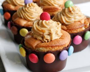 Schokolade-Apfel Muffins mit SMARTIES®