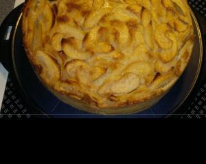 Apfelkuchen französische Art