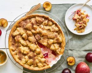 Apfel-Zwetschken-Kuchen