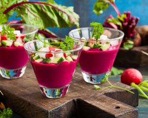 Kalte Rote Rüben Suppe