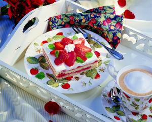 Wiesener Erdbeer-Zitronenschnitten