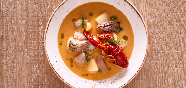 Traunsee-Fischsuppe