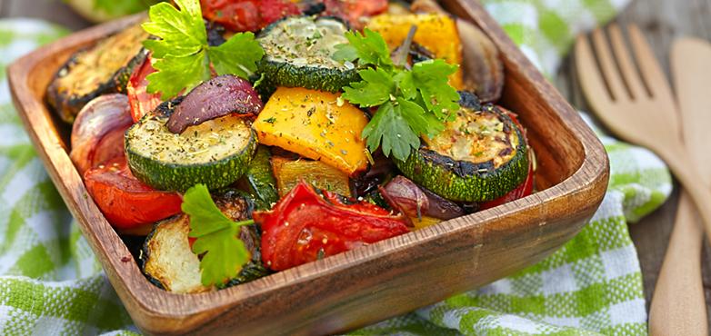 Perfektes Gemüse