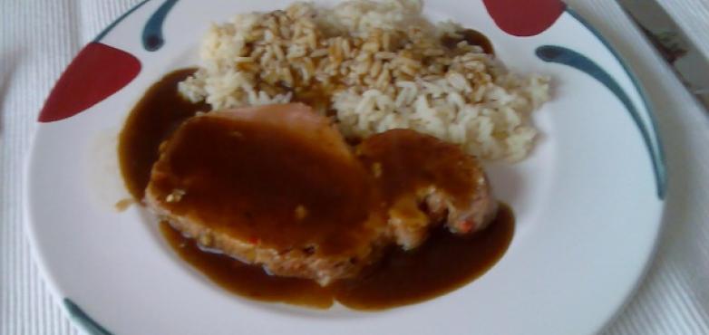 Surbraten mit Reis