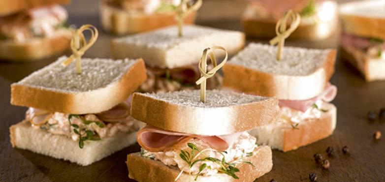 Beinschinken-Sandwich