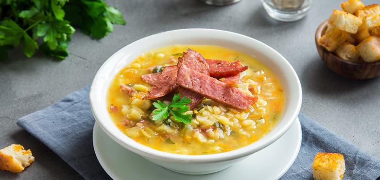 Waldviertler Bohnen Suppe mit Gemüse