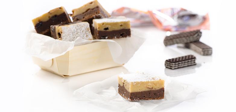 Blondie-Brownie Kuchen