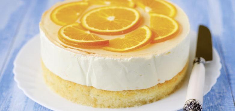 Orangentorte